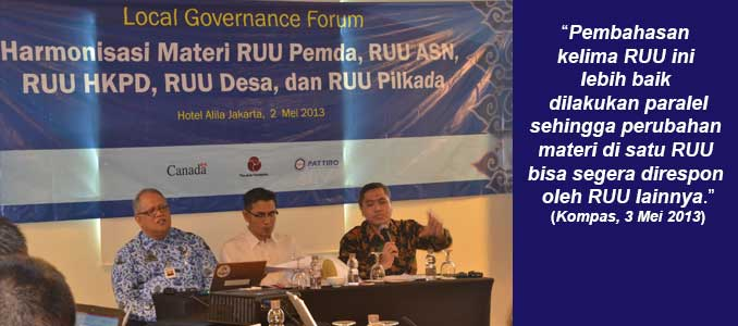 Local Governance Forum Series